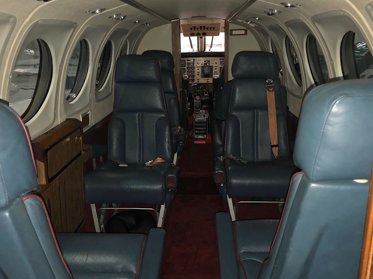 SOLD  King Air B100 sn BE-130